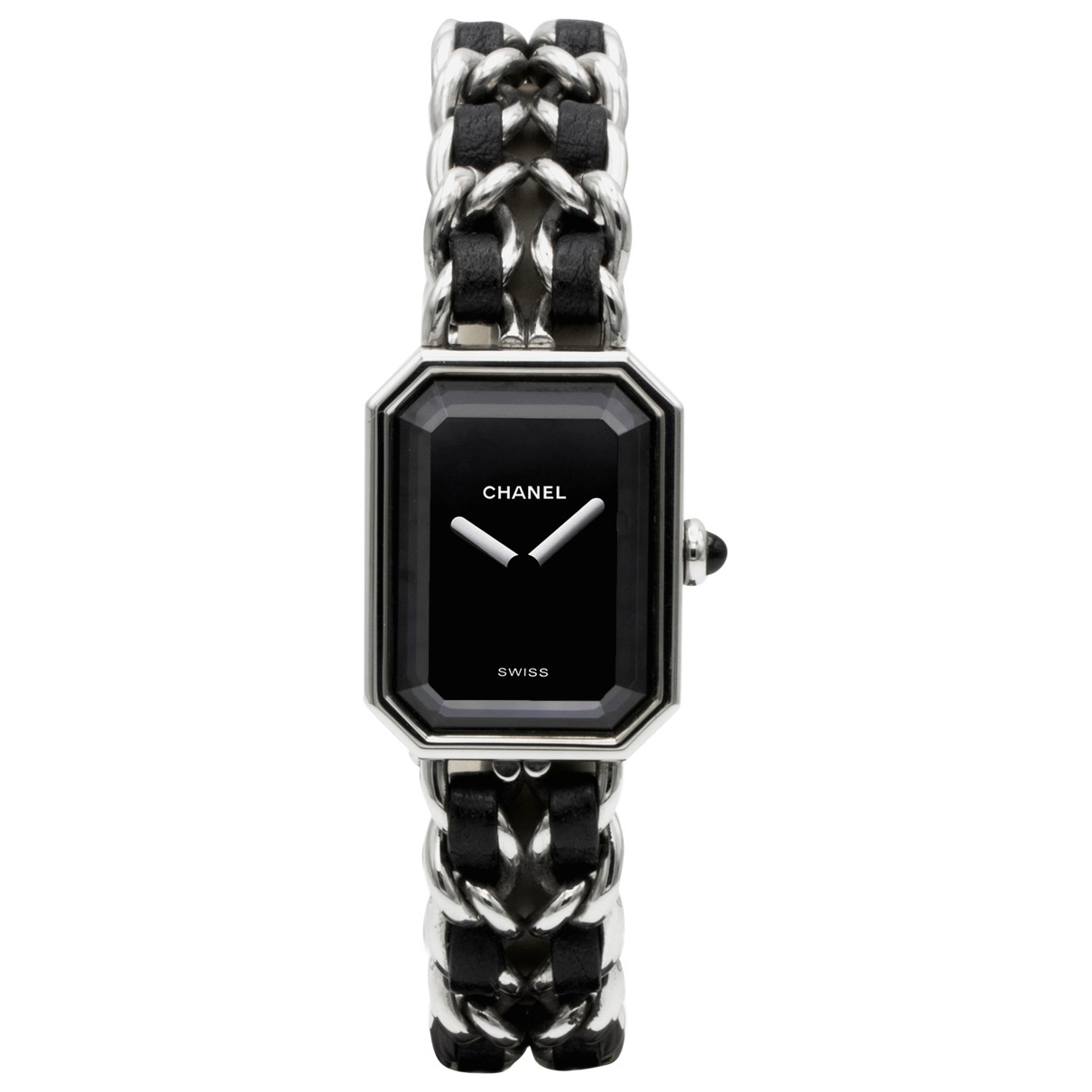 Chanel - Montre Premiere Rock pour femme en acier - noir