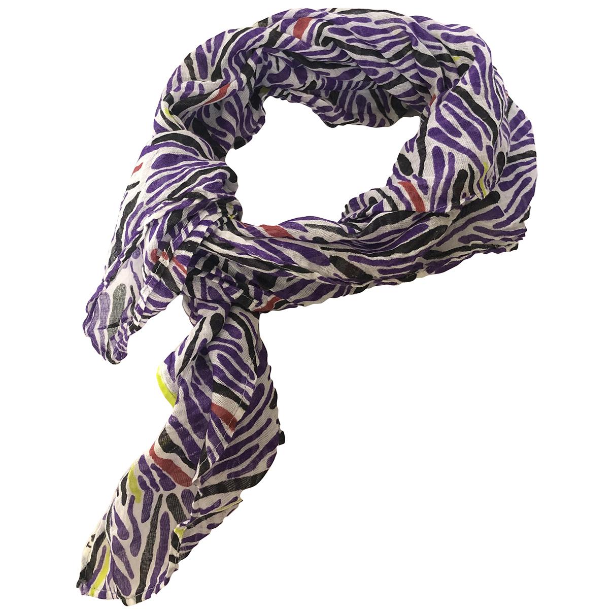 Missoni - Foulard   pour femme en coton - multicolore