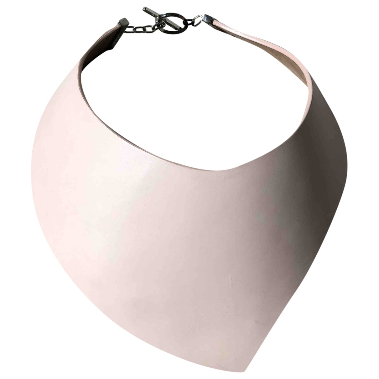 Emporio Armani \N Pink Leather necklace for Women \N