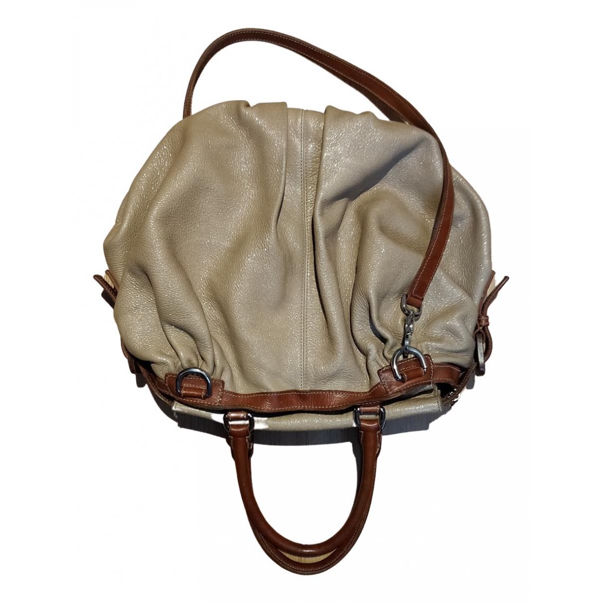 Dolce & Gabbana \N Beige Leather handbag for Women \N