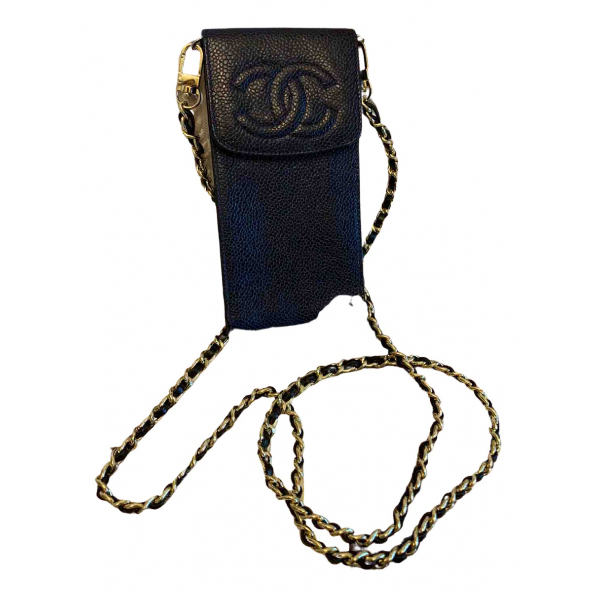 Chanel \N Navy Leather Purses, wallet & cases for Women 8cm x 16 cm