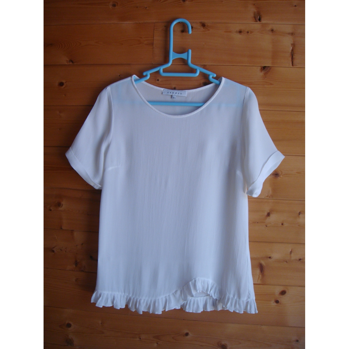 Sandro \N White  top for Women 2 0-5