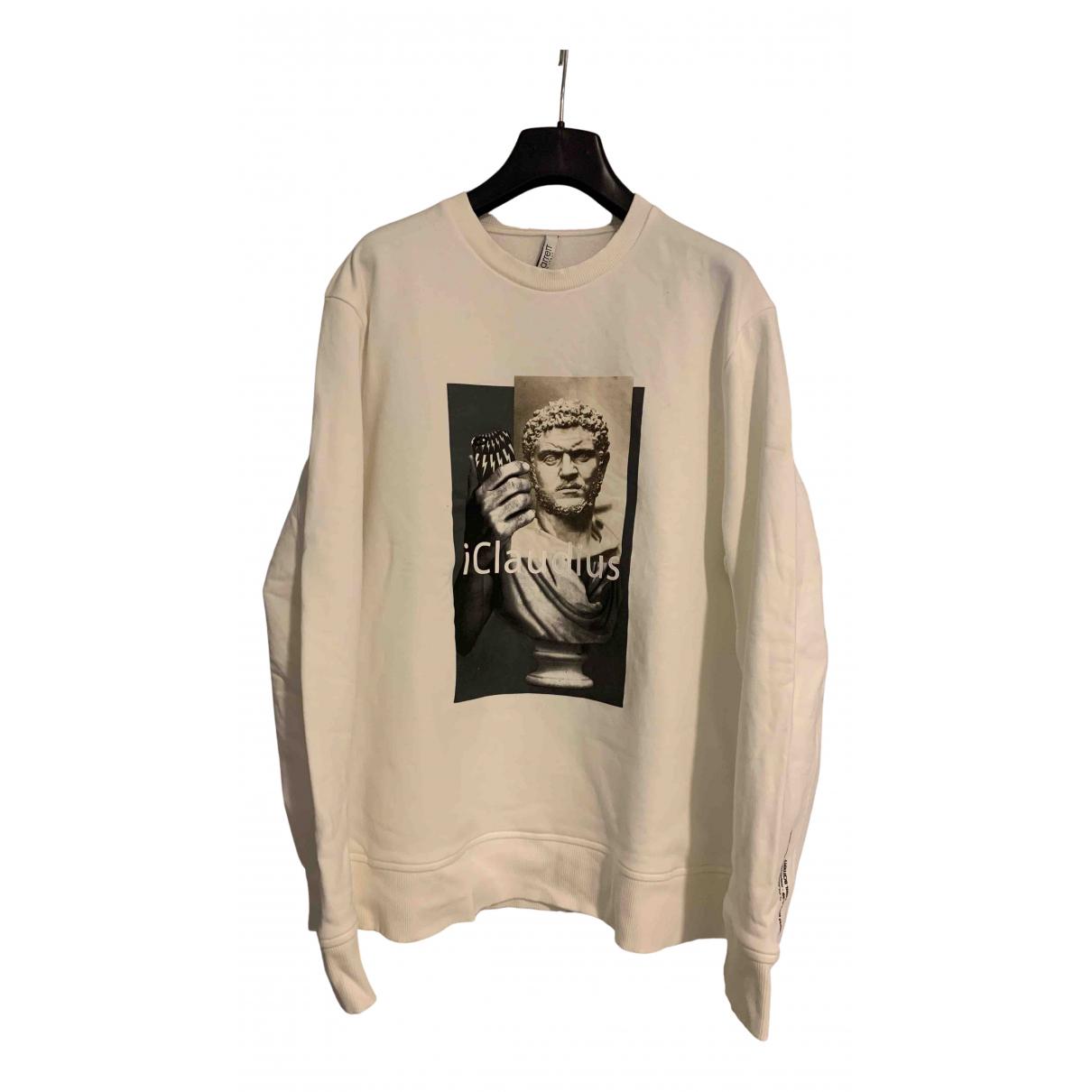 Neil Barrett \N Pullover.Westen.Sweatshirts  in  Weiss Baumwolle