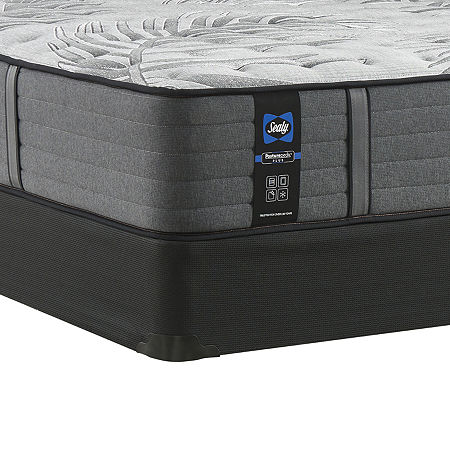 Sealy Posturepedic Plus Porteer Ultra Firm Mattress + Box Spring, One Size , Gray