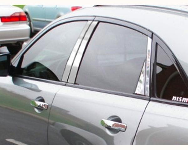 Quality Automotive Accessories 8-Piece Pillar Post Trim Kit Infiniti FX Series 2005