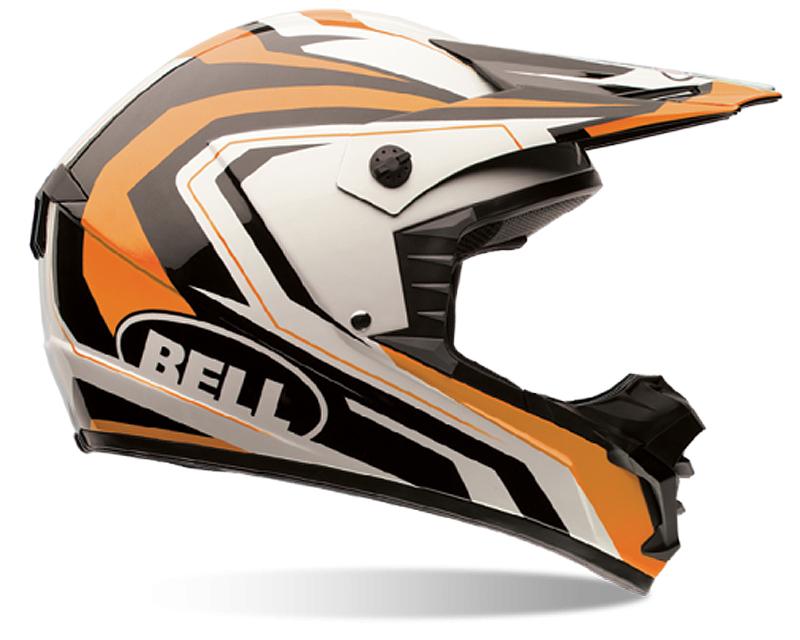 Bell Racing 7061284 SX-1 Storm Orange Helmet XL | 60-61
