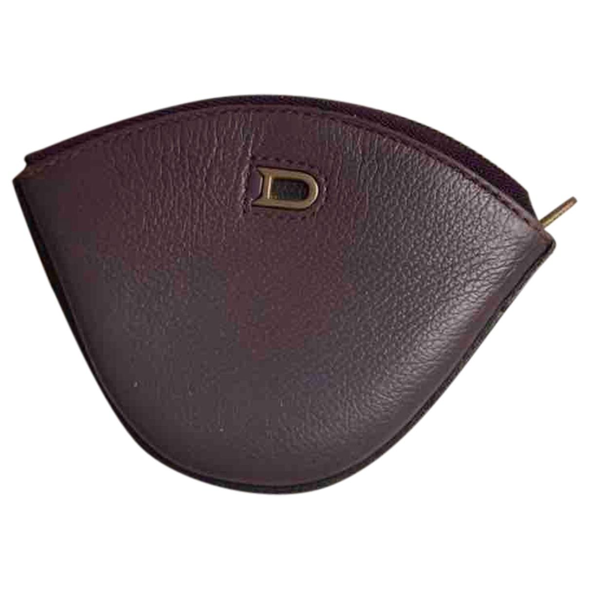 Delvaux \N Purple Leather Purses, wallet & cases for Women \N