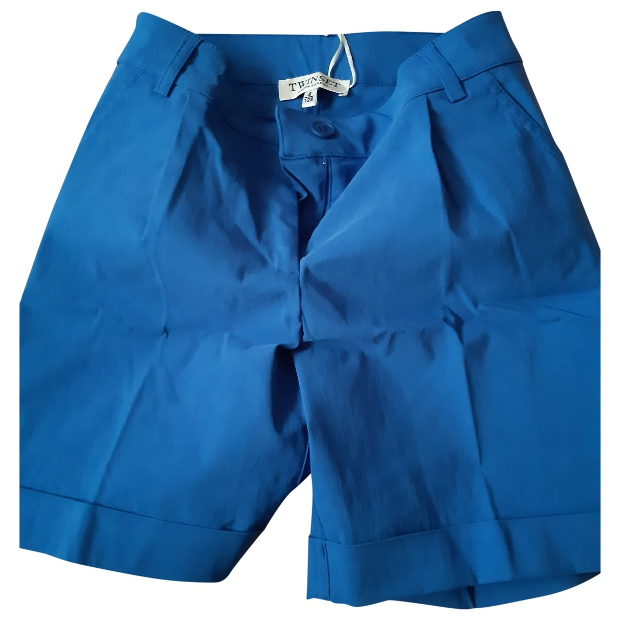 Twin Set \N Blue Denim - Jeans Shorts for Kids 8 years - up to 128cm FR
