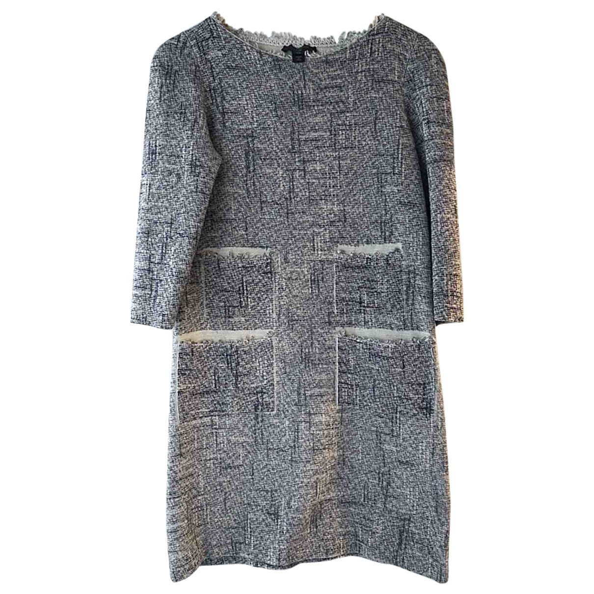 Louis Vuitton \N Grey Cotton dress for Women 34 FR