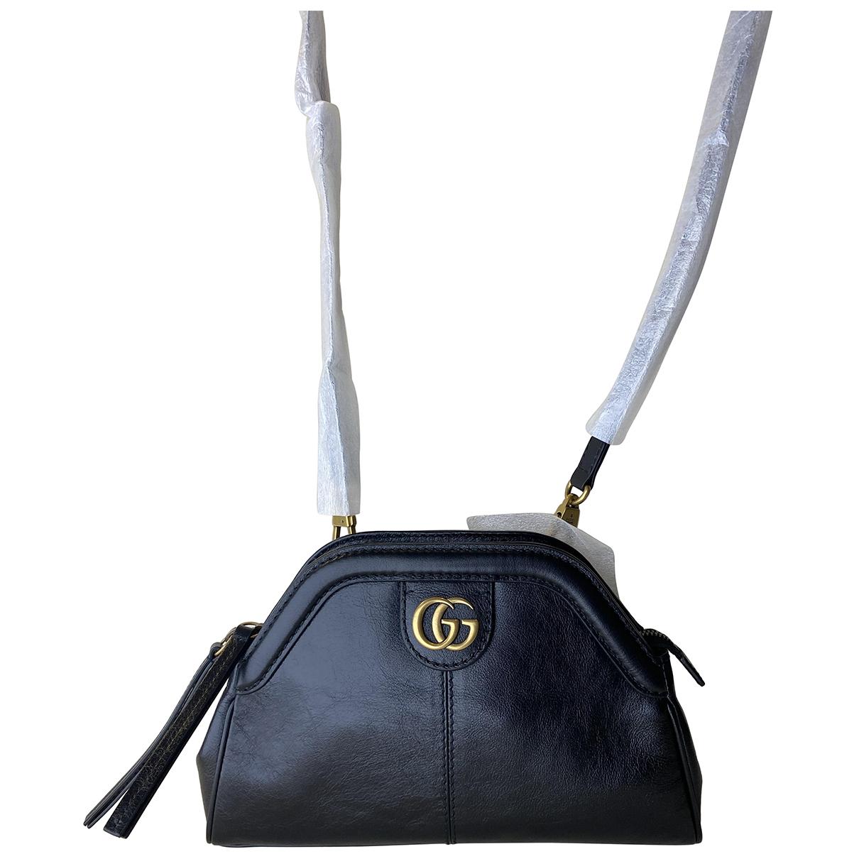 Gucci - Sac a main Re(belle) pour femme en cuir - noir