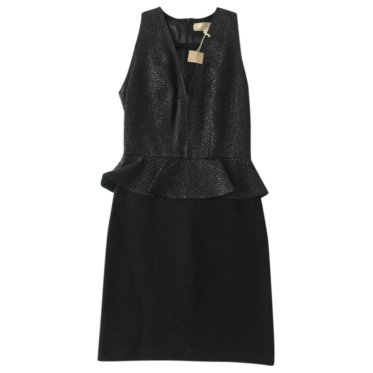 Vanessa Bruno Athe \N Kleid in  Schwarz Polyester