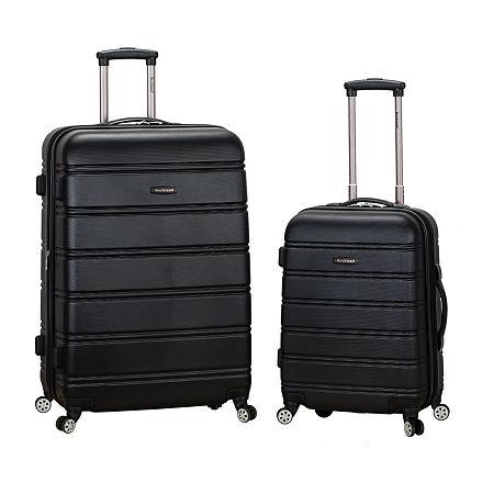 Rockland Melbourne 2-pc. Hardside Spinner Luggage Set, One Size , Black