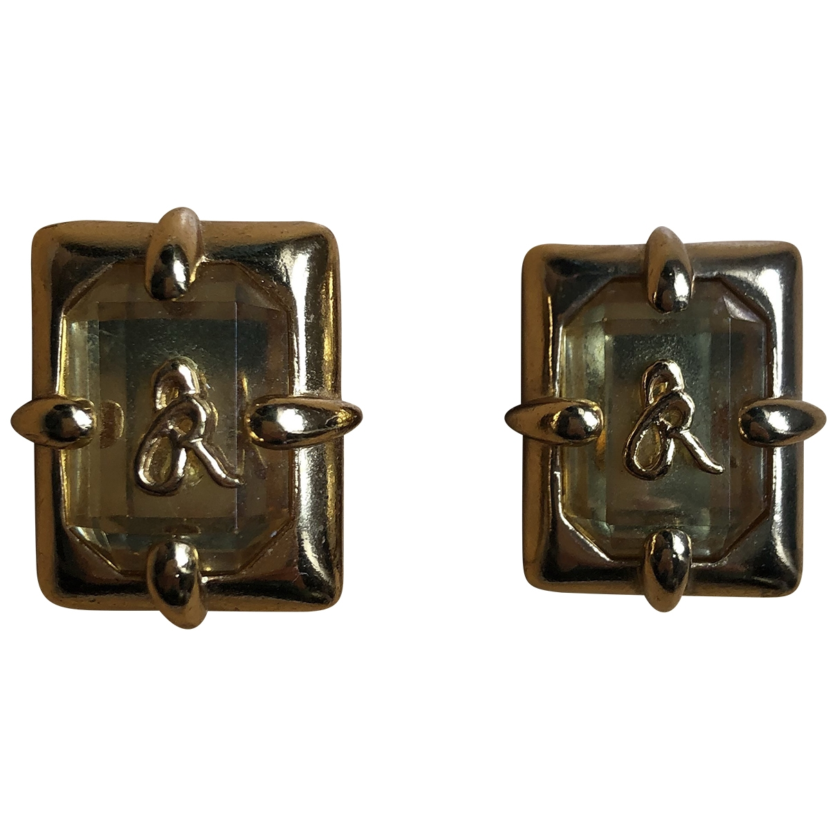 Sonia Rykiel \N Gold Metal Earrings for Women \N