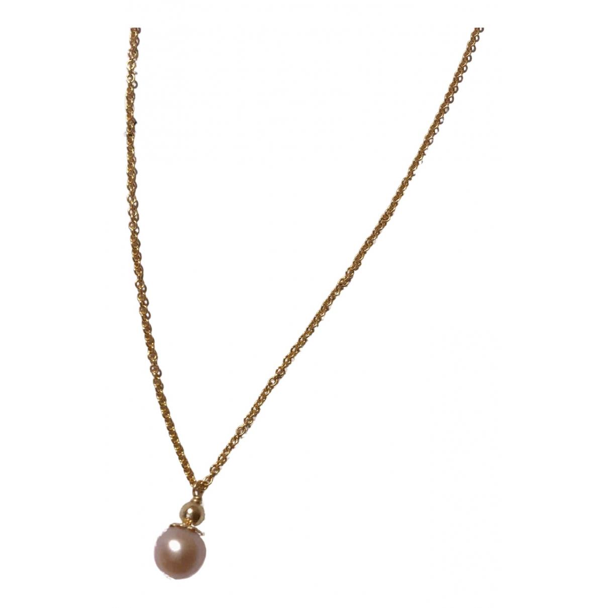 Non Signe / Unsigned \N Halskette in  Gold Vergoldet