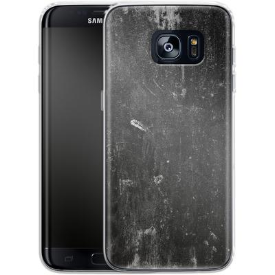 Samsung Galaxy S7 Edge Silikon Handyhuelle - Grundge von caseable Designs