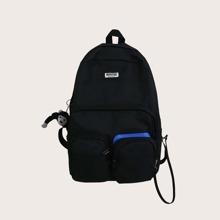 Men Pocket Front Backpack