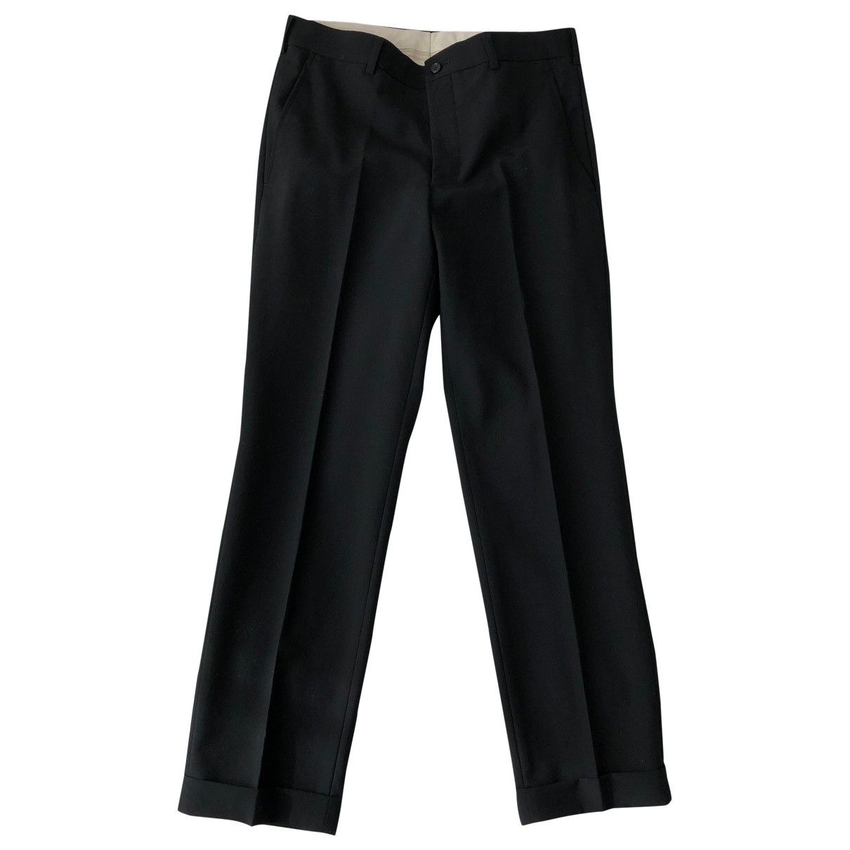 Comme Des Garcons \N Black Wool Trousers for Men S International
