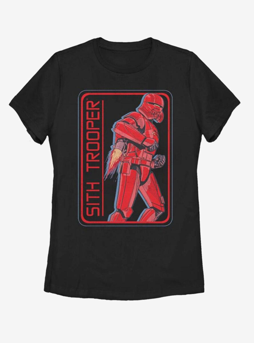 Star Wars Episode IX The Rise Of Skywalker Retro Sith Trooper Womens T-Shirt
