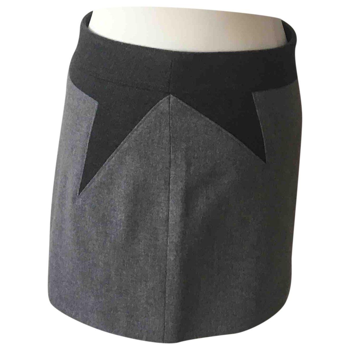 Givenchy - Jupe   pour femme en laine - gris
