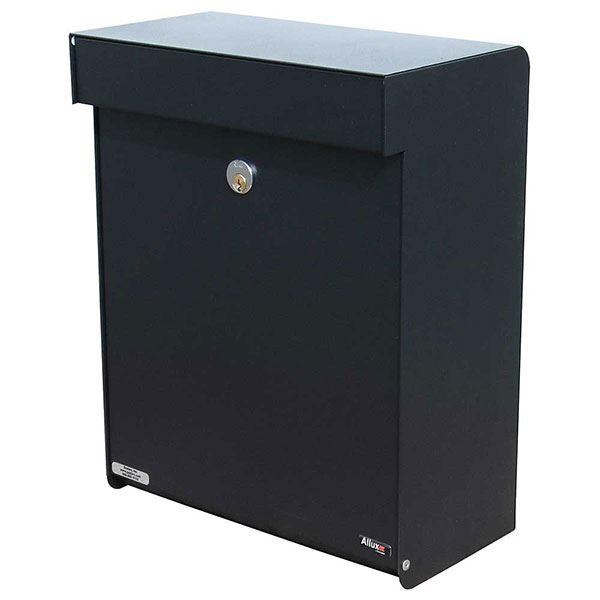 Allux Grandform Mailbox, Black