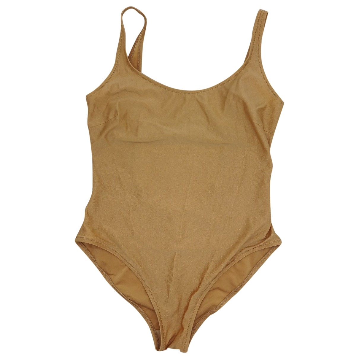 Non Signé / Unsigned \N Gold Lycra Swimwear for Women \N