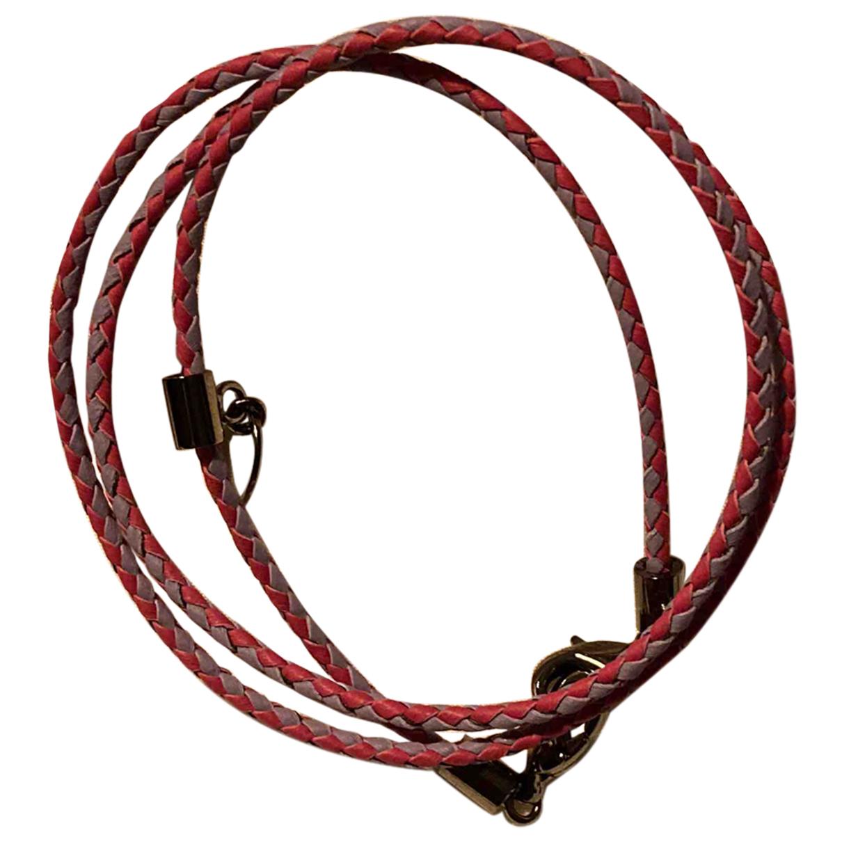 Jimmy Choo - Bracelet   pour femme en cuir - rose