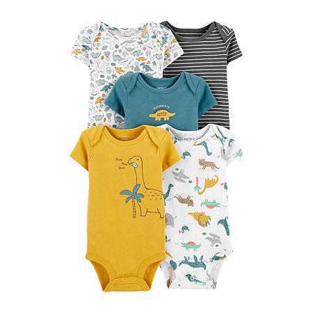 Carter's Little Baby Basic Baby Boys 5-pc. Bodysuit, 3 Months , Multiple Colors
