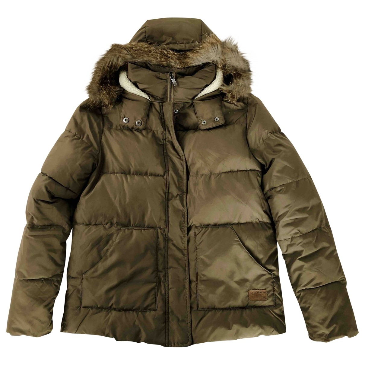 Lee \N Khaki coat for Women S International