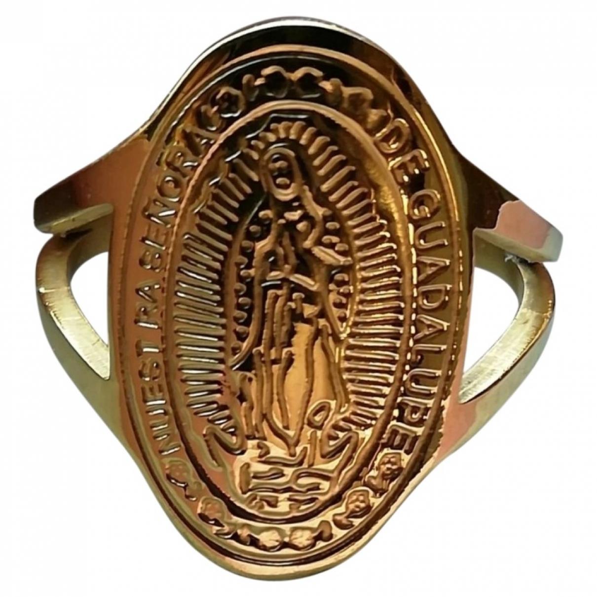 - Bague Motifs Religieux pour femme en metal - dore