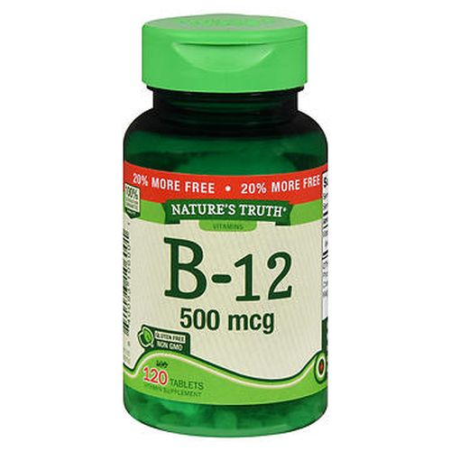 B12 120 Tabs by Natures Truth