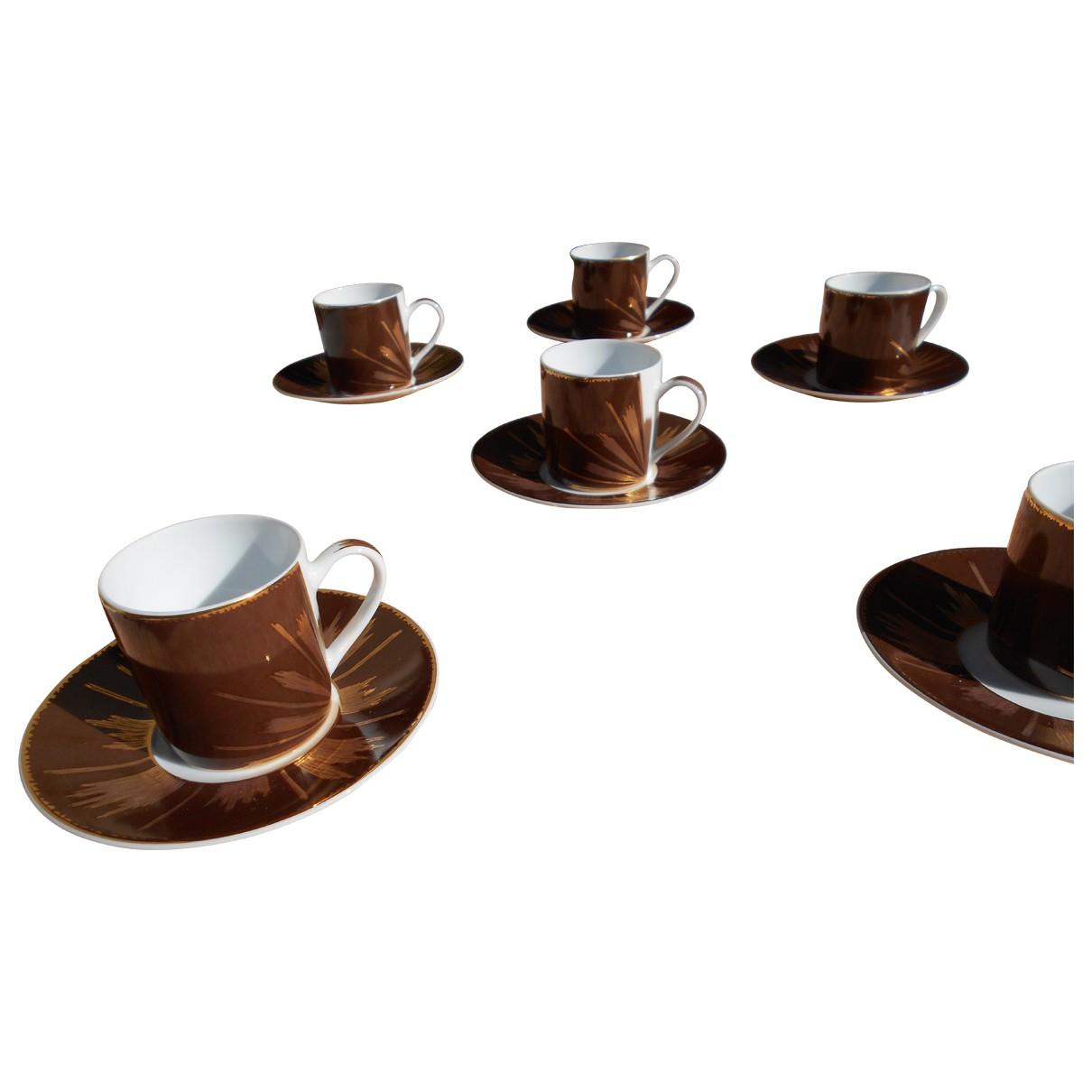 Christian Lacroix - Arts de la table   pour lifestyle en porcelaine - marron