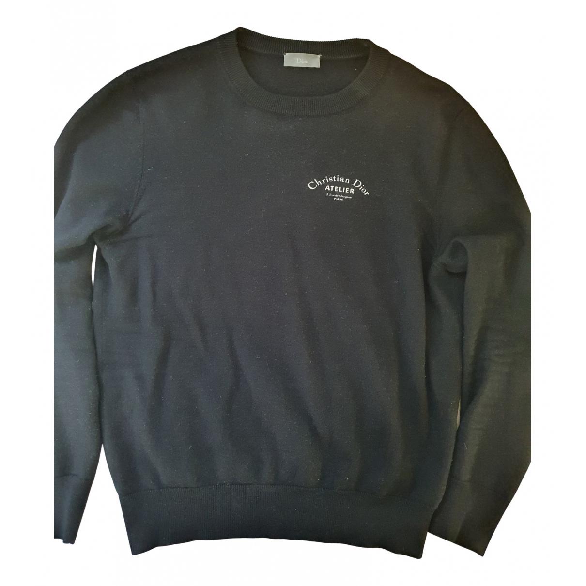 Dior Homme \N Pullover.Westen.Sweatshirts  in  Schwarz Wolle