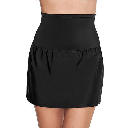 St. John's Bay Swim Skirt Swimsuit Bottom, 12 , Black