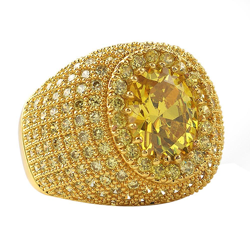 Masterpiece Lemonade CZ Bling Bling Ring
