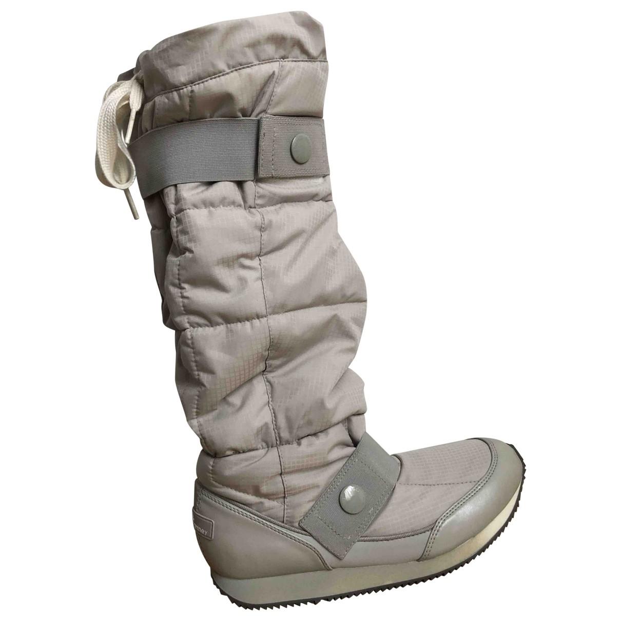 Stella Mccartney Pour Adidas - Bottes   pour femme - beige