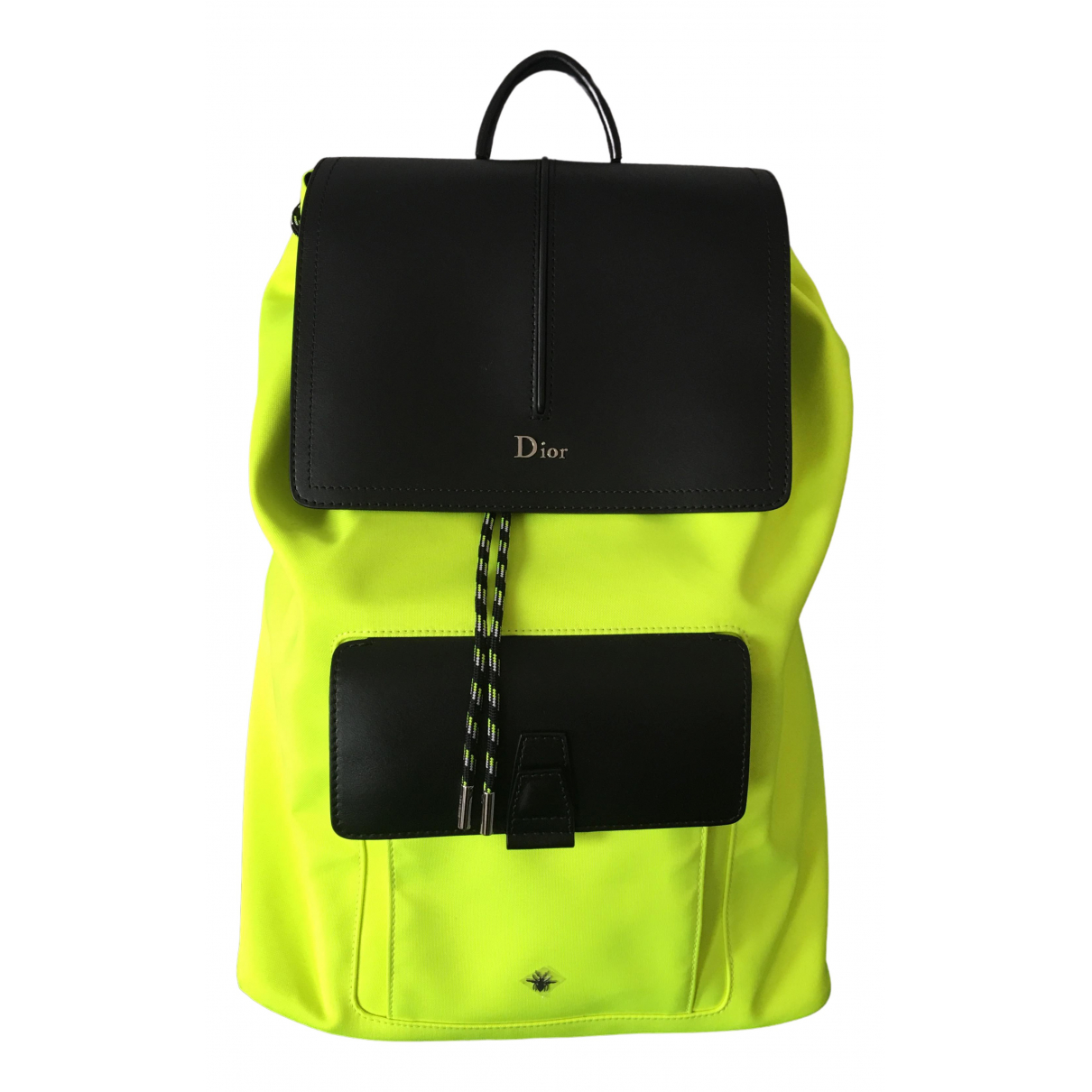 Dior Homme N Yellow Cotton bag for Men N