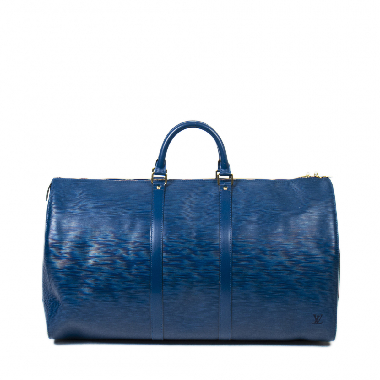 Louis Vuitton \N Handtasche in  Blau Leder