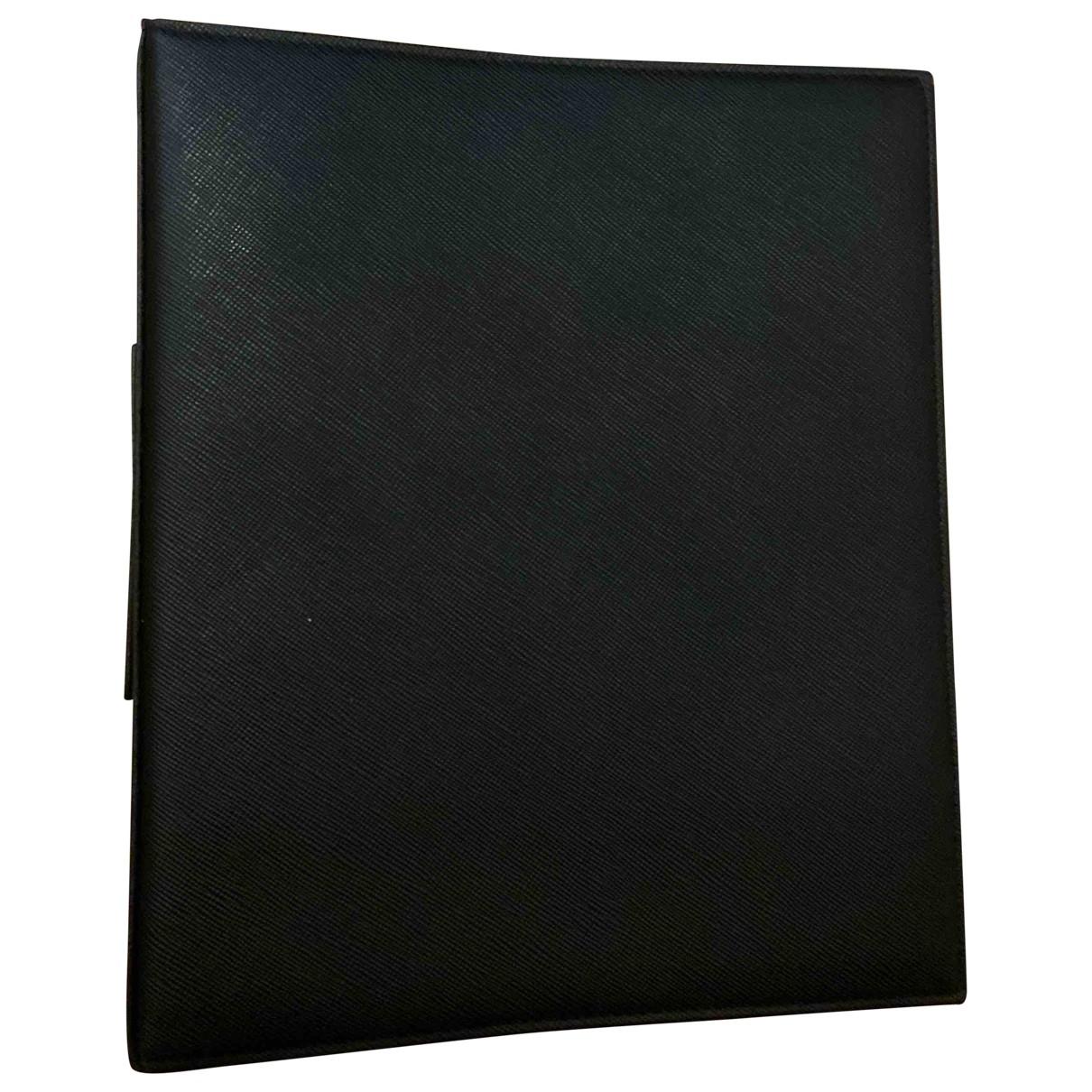 Prada - Objets & Deco   pour lifestyle en cuir - noir