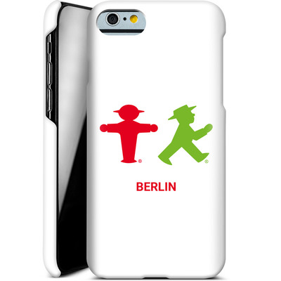 Apple iPhone 6s Smartphone Huelle - Green and Red von AMPELMANN