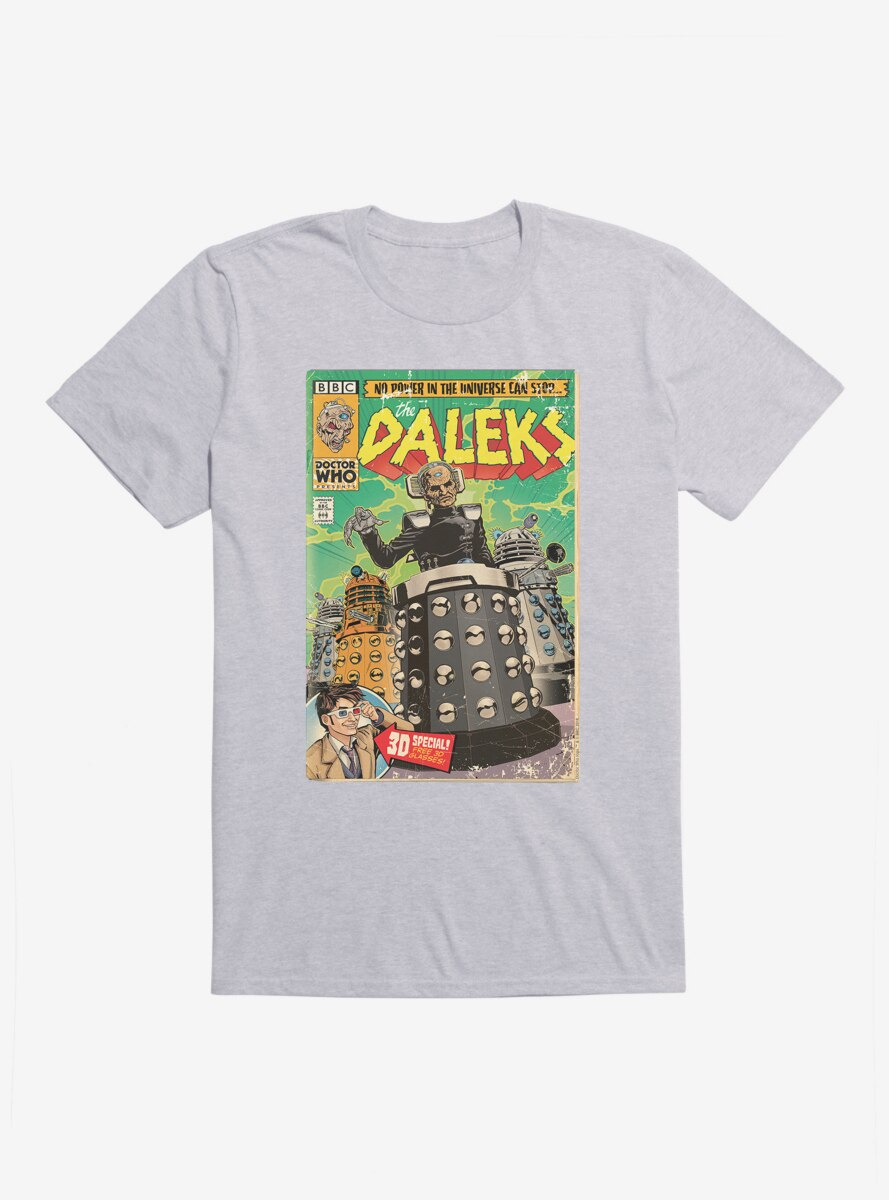 Doctor Who Cant Stop The Daleks T-Shirt