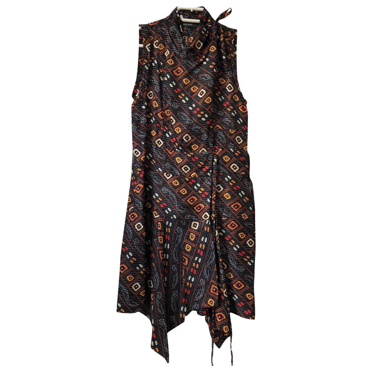 Isabel Marant \N Multicolour Silk dress for Women 34 FR