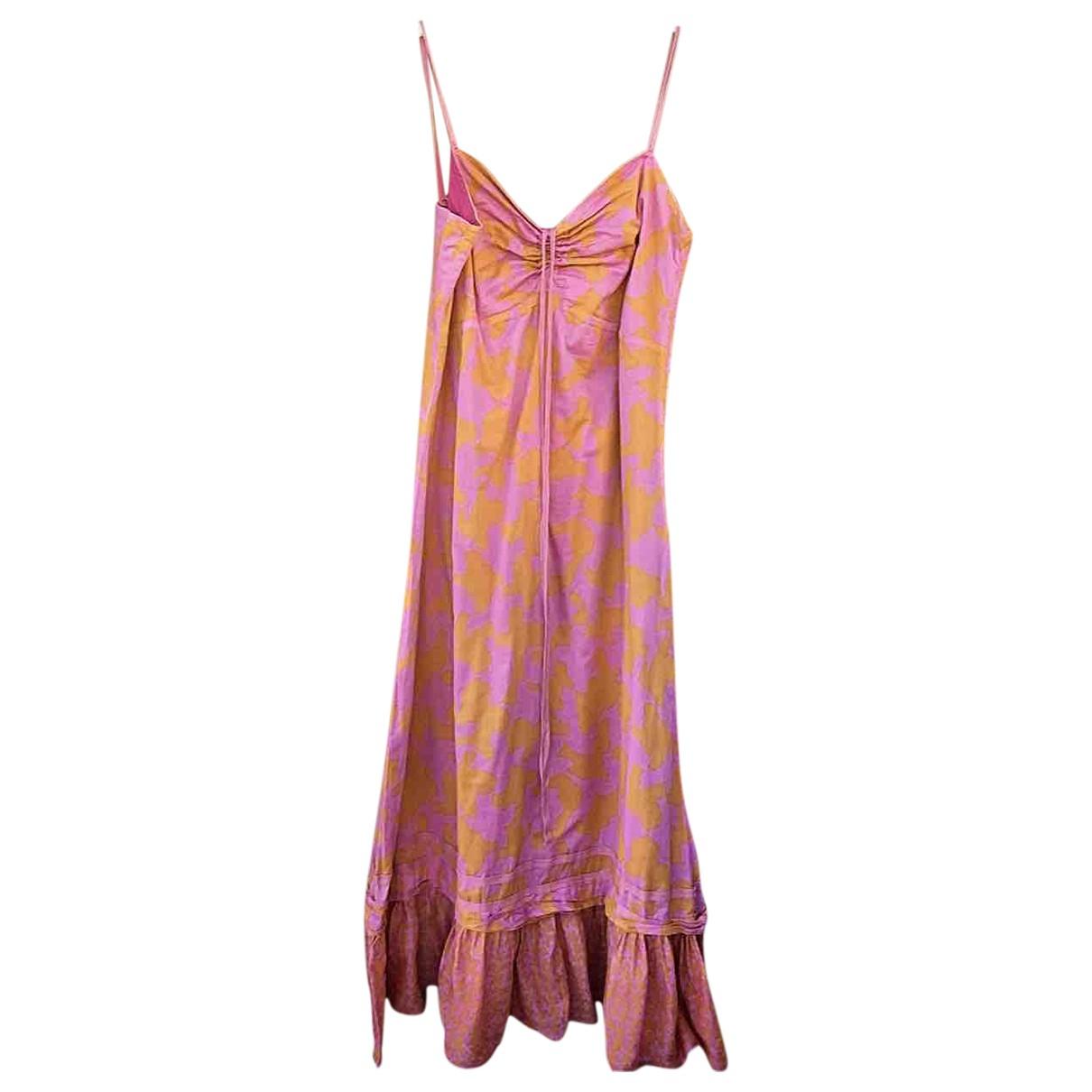Max & Co - Robe   pour femme en coton - multicolore