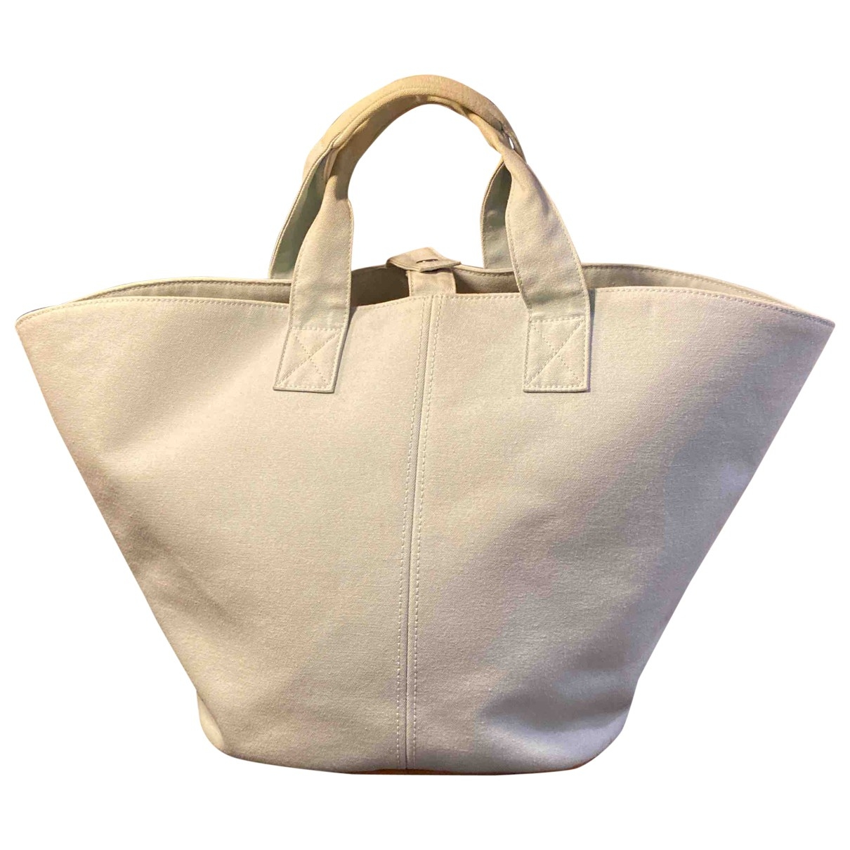 Hermes \N Handtasche in  Blau Baumwolle