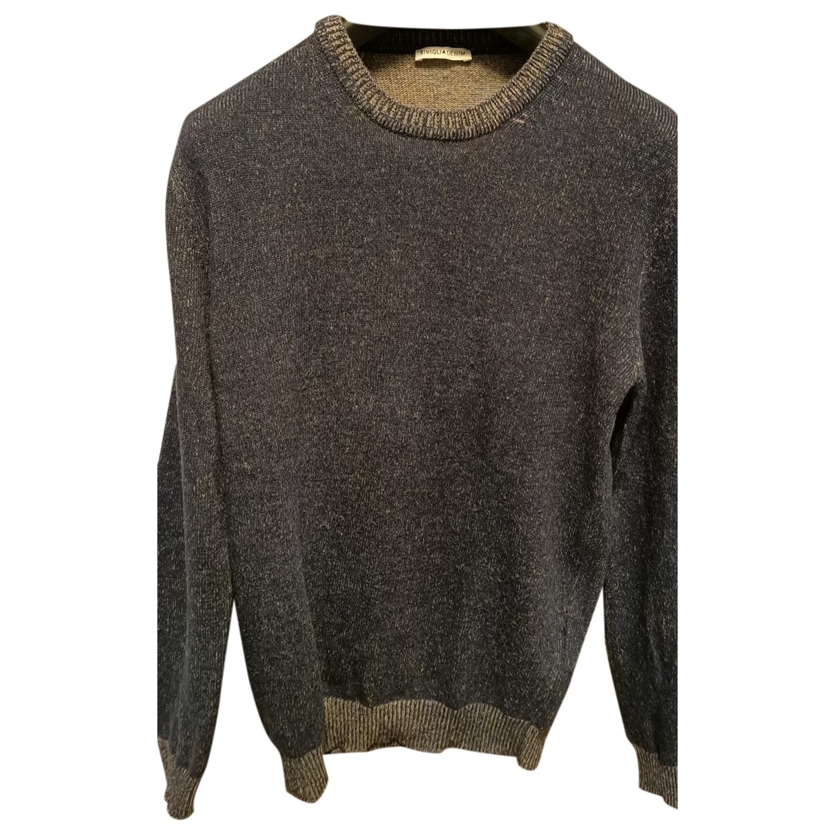Atelier Siviglia \N Blue Cotton Knitwear & Sweatshirts for Men 52 IT