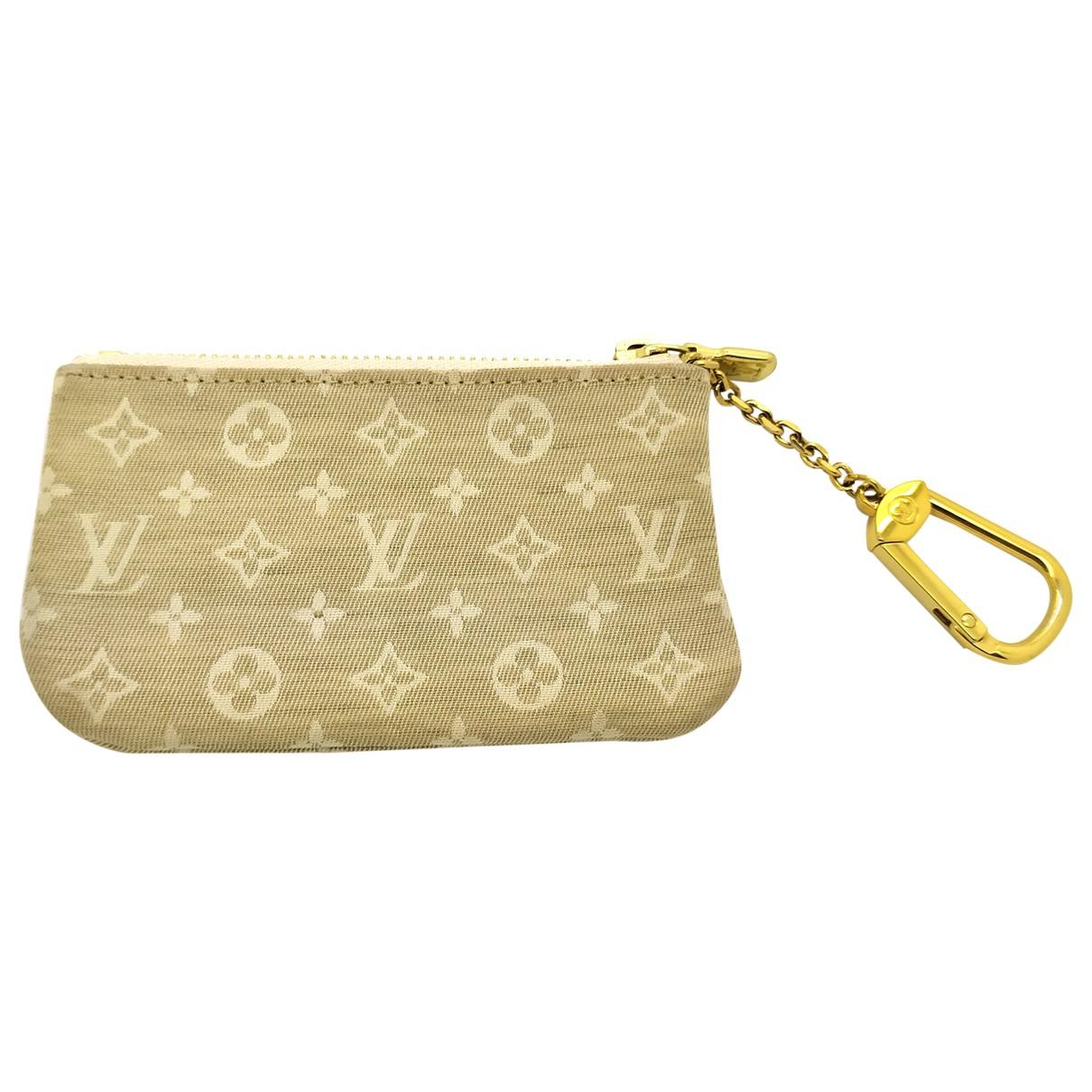 Louis Vuitton \N Kleinlederwaren in  Beige Leinen