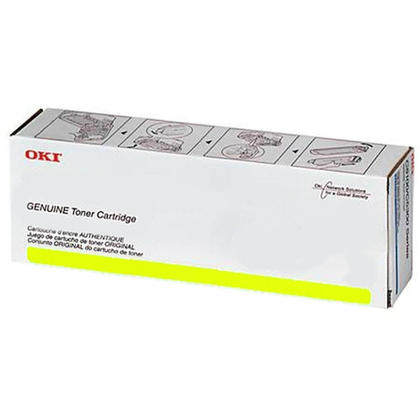Okidata 45396221 Original Yellow Toner Cartridge