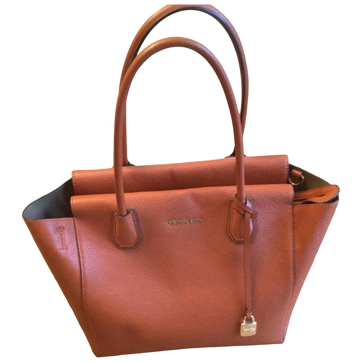 Michael Kors \N Orange Leather handbag for Women \N