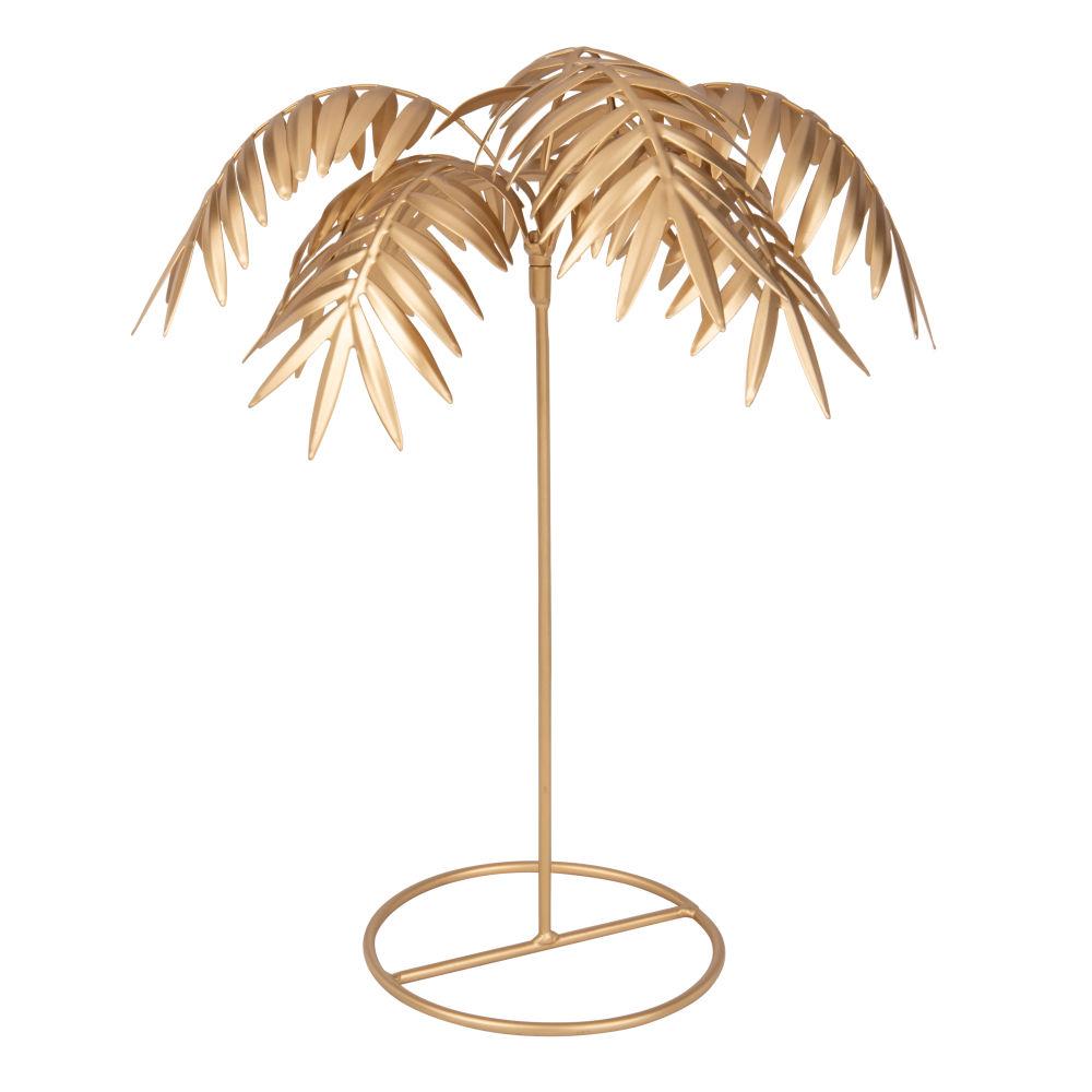 Palme aus goldenem Metall H43