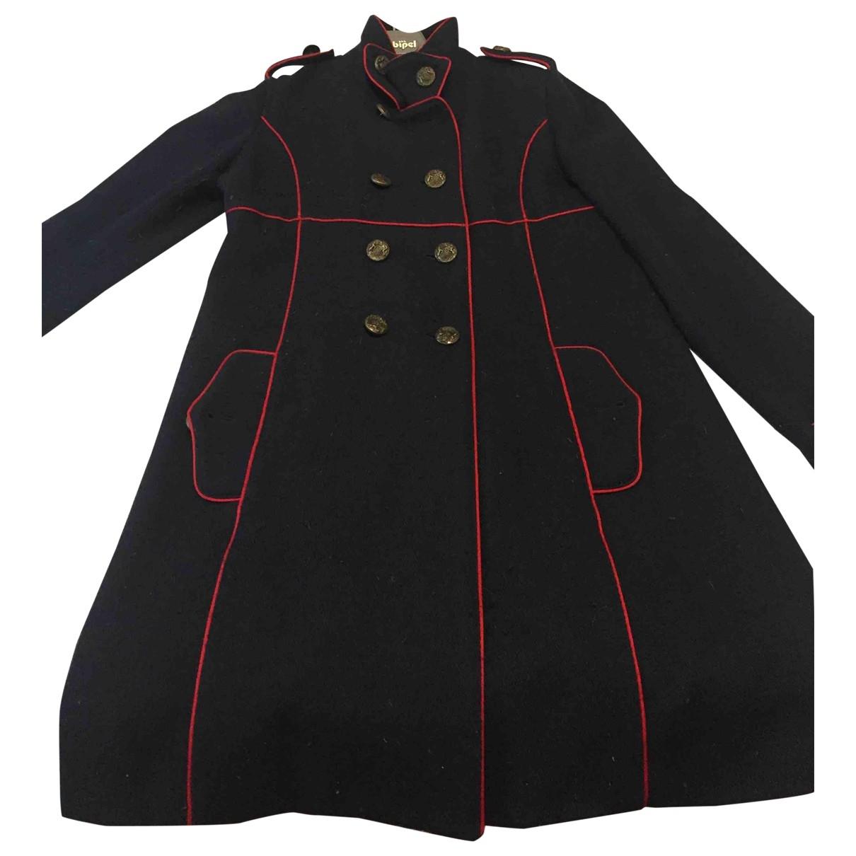 Polo Ralph Lauren - Manteau   pour femme en laine - bleu