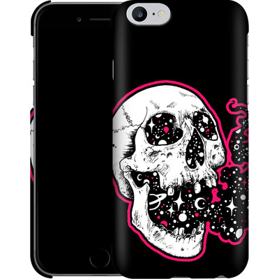 Apple iPhone 6s Plus Smartphone Huelle - Space Skull Black von Kreatyves